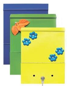 Индивидуальные модели почтовых ящиков.